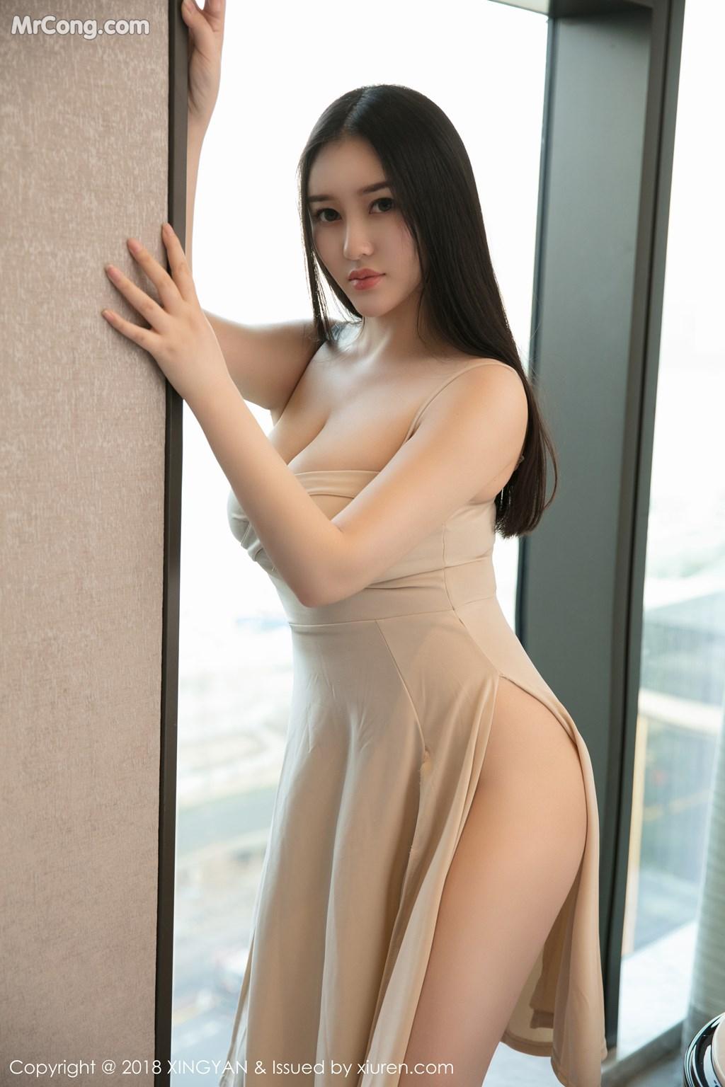 Image XingYan-Vol.031-En-Yi-MrCong.com-007 in post XingYan Vol.031: Người mẫu En Yi (恩一) (43 ảnh)