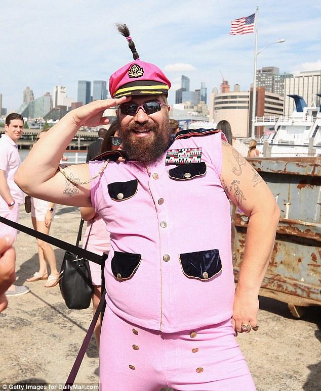 Fat pink asshole opinion