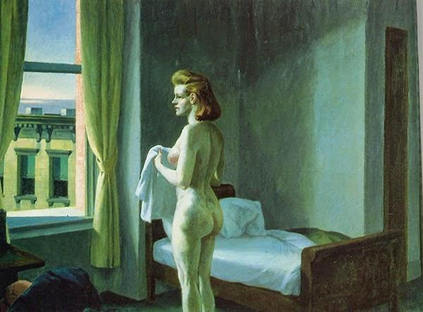 Manhã em uma Cidade - Edward Hopper e suas principais pinturas ~ O pintor da solidão