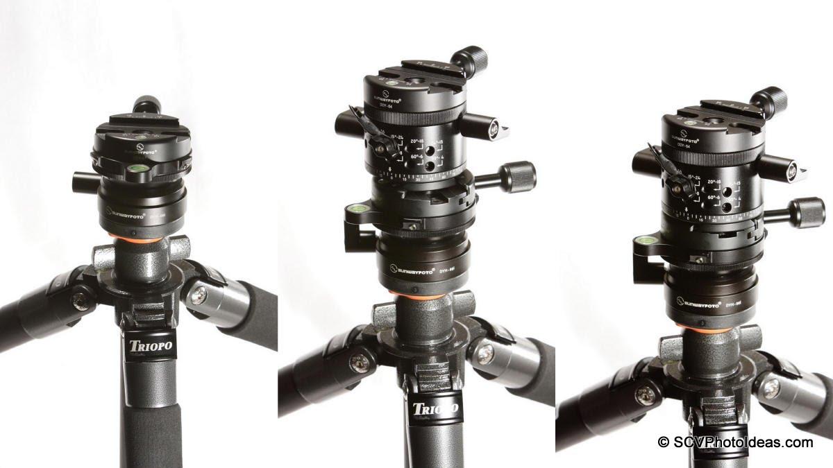 Sunwayfoto DYH-66i & DDP-64M+DDY-64 -AM-01 Mounting Seq