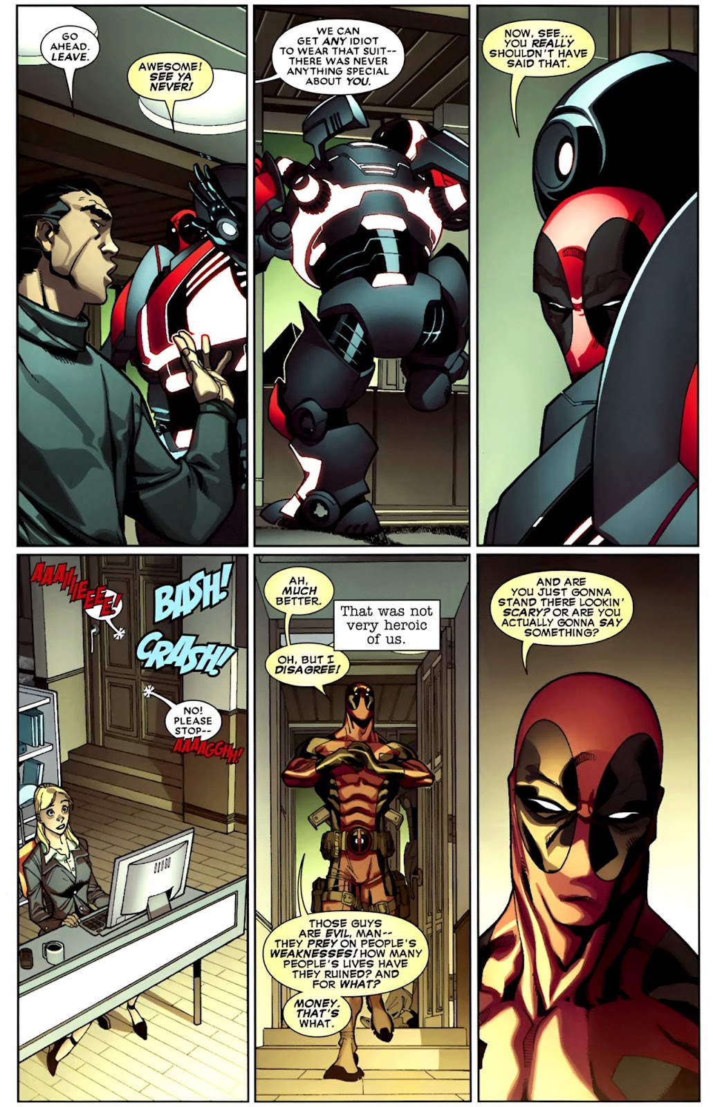 Read online Deadpool (2008) comic -  Issue #26 - 6