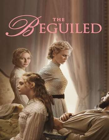 Poster Of The Beguiled In Dual Audio Hindi English 300MB Compressed Small Size Pc Movie Free Download Only At worldfree4u.com