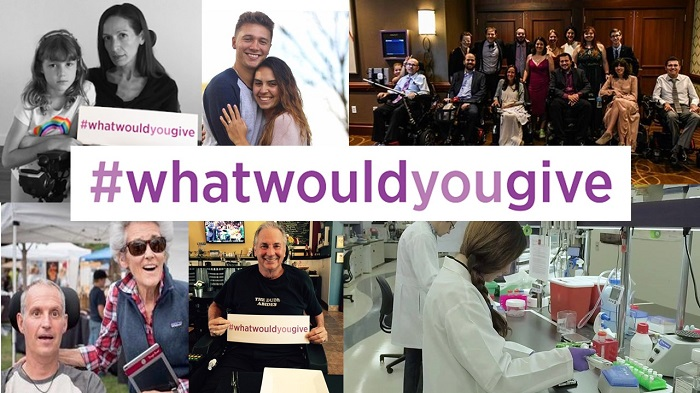 #WhatWouldYouGive #EndALS