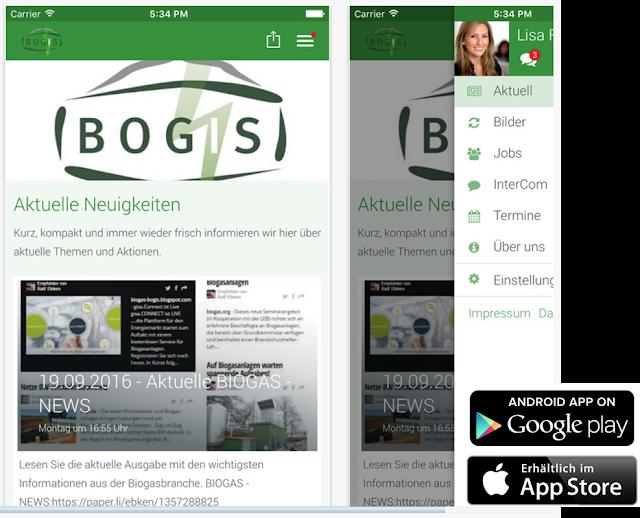 Neue APP: BOGIS Info - BT-IT GmbH®