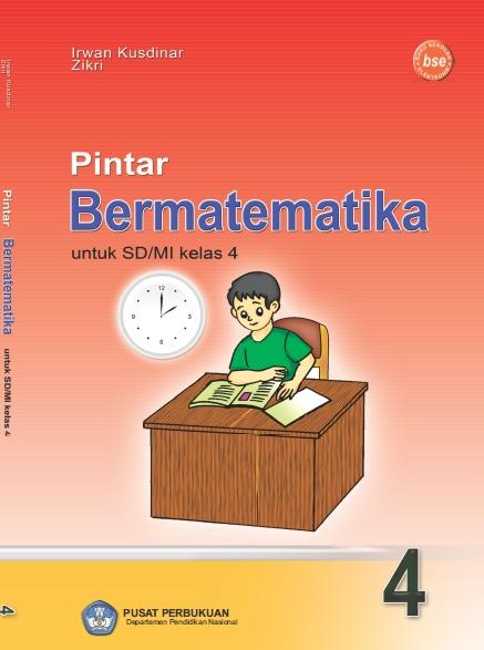 Buku Pendalaman Materi Matematika SD/MI Kelas 4 Karya Irwan Kusdinar dan Zikri