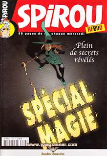 Spirou Hebdo, Spécial Magie, numéro 3587, année 2007