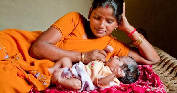 Criando con ternura: masajes shantala para bebés