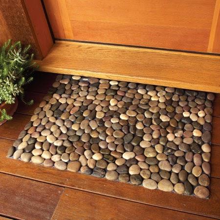 Diy Cool Crafting Stone Floor Mat