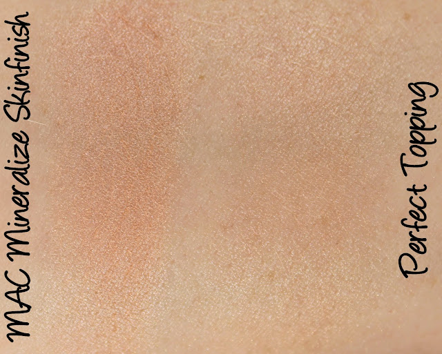 MAC Monday: Sugarsweet - Perfect Topping Mineralize Skinfinish Swatches & Review