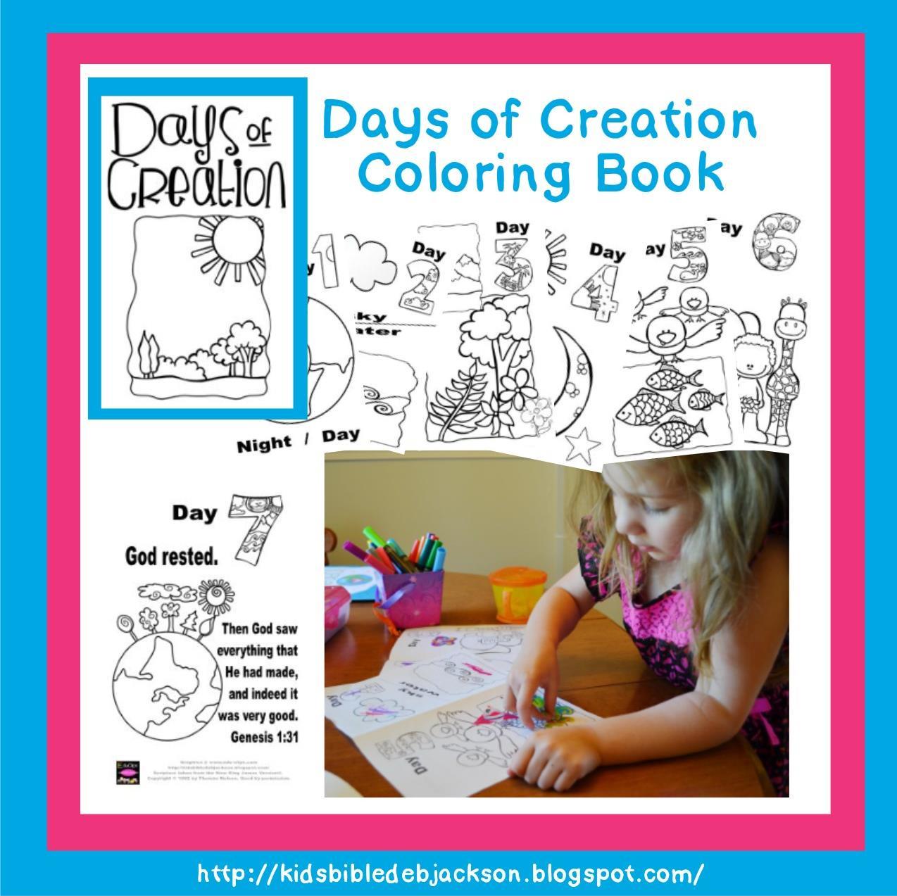 Bible Fun For Kids Creation Printables
