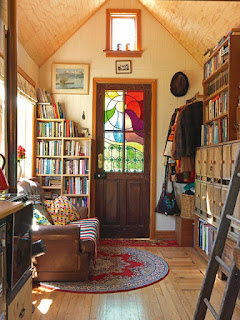 Tiny Bohemian Home - Reading, Writing, Booking