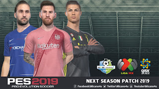 PES 2019 Next Season Patch 2019 - Released 28.01.2019