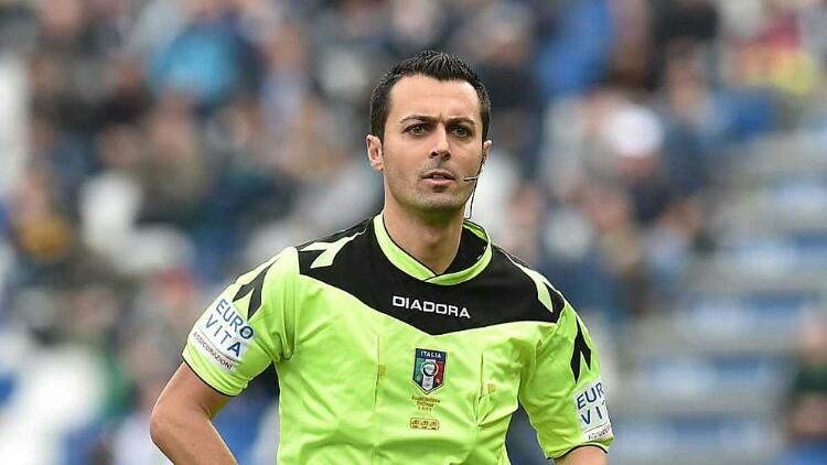 Marco Di Bello arbitro di CAGLIARI-INTER