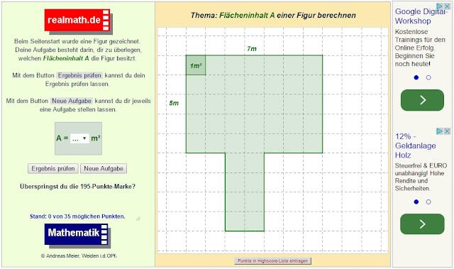 Fläche Berechnen Rechteck Rechteck Fläche Und Umfang