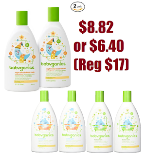 2 Bottles Of 20oz Babyganics Baby Bubble Bath 8 82 Reg