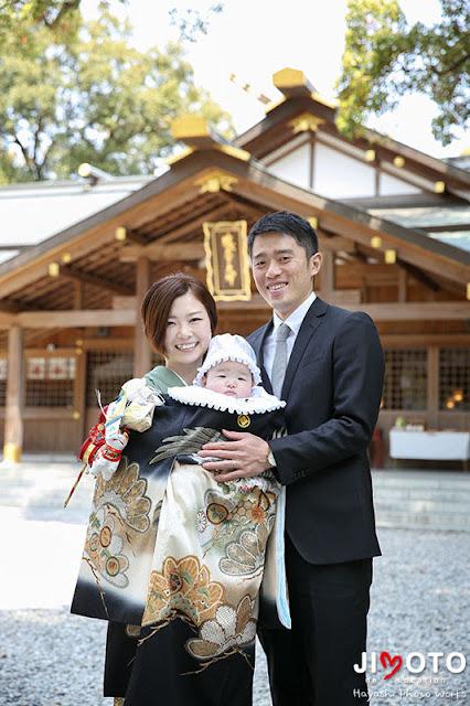 猿田彦神社でのお宮参り出張撮影