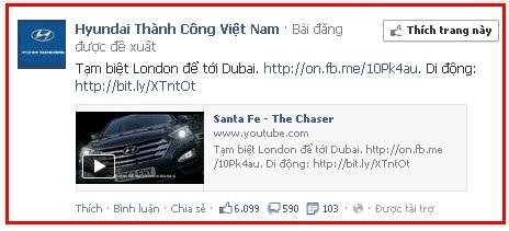 Quảng cáo facebook ads được đề xuất