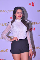 Pragya Jaiswal in lovely Black Mini Skirt and White Transparent Shirt ~  Exclusive 043.JPG