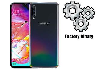 روم كومبنيشن Samsung Galaxy A70 SM-A7050