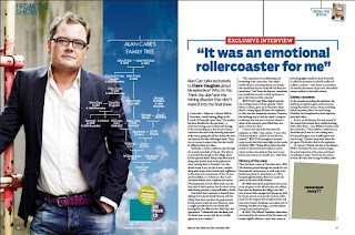 Alan Carr WDYTYA? Magazine Article