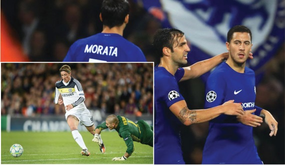 Chelsea knocks Barcelona out of the Champions League in 2012