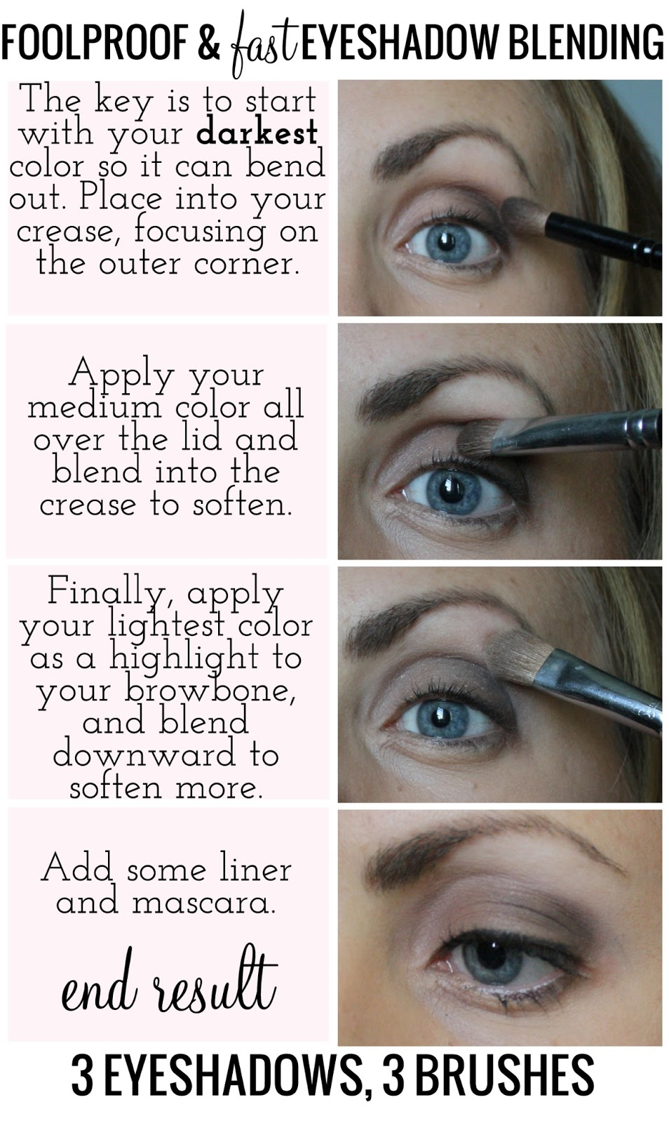 The Key Is To Start With Your Darkest Color So It Can Bend Out Place