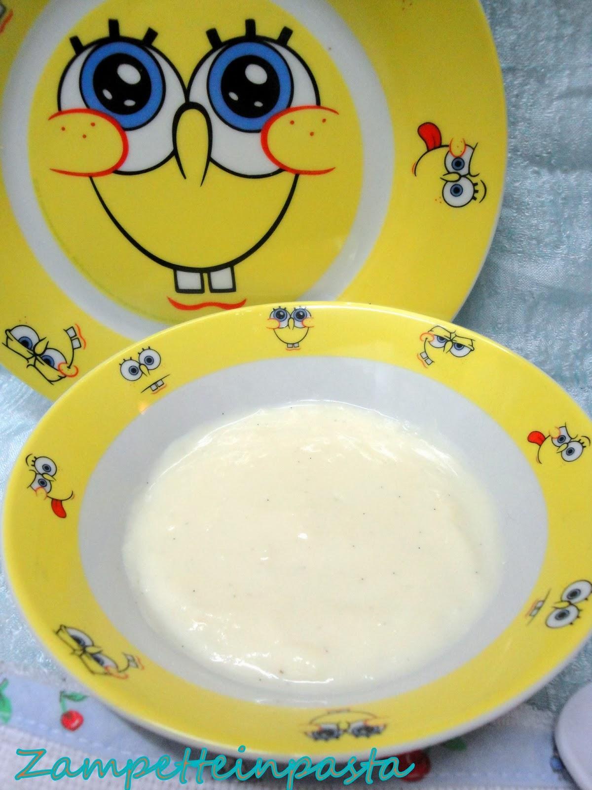Budino alla vaniglia (senza uova)