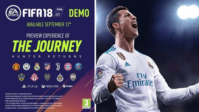 النسخة الdemo من لعبة FIFA 18 متاحة الان للتحميل مجاناً