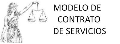 modelo de contrato de servicios