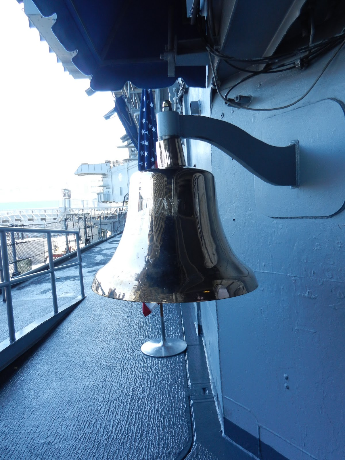 USS Midway bell picture