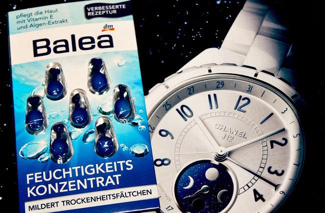 Balea Face moisturizing concentrate (7 blue capsules)