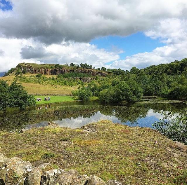 Walltown in Northumberland national park UK