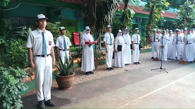 Upacara Bendera Awal Semester Genap Tahun 2018/2019