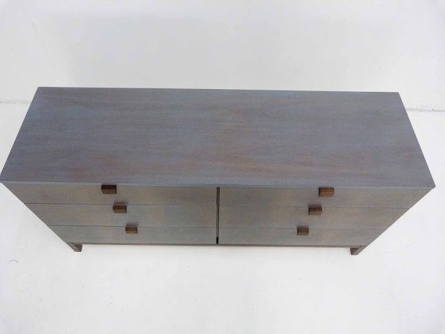 Milo Baughman For Directional 6-Drawer Mid-Century Modern Dresser Top