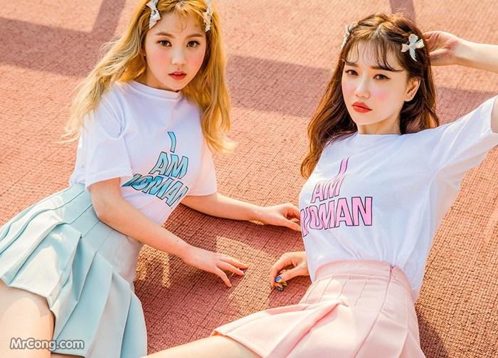 Người đẹp Lee Chae Eun và Seo Sung Kyung trong bộ ảnh thời trang tháng 3/2017 (33 ảnh)