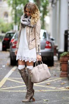 vestido bota