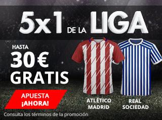suertia promocion Atlético vs Real Sociedad 2 diciembre