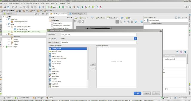 Cara Membuat Image Button Android Studio