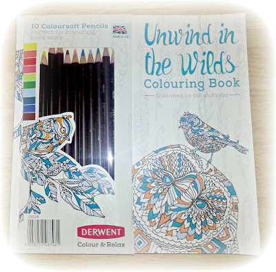 A colouring set from Derwent