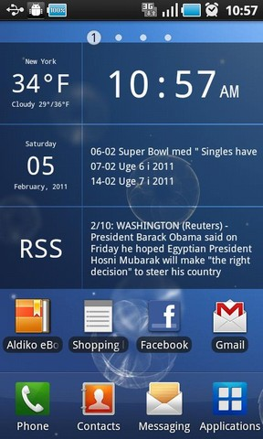 Glass Widgets Android Transparent Home Screen Widgets
