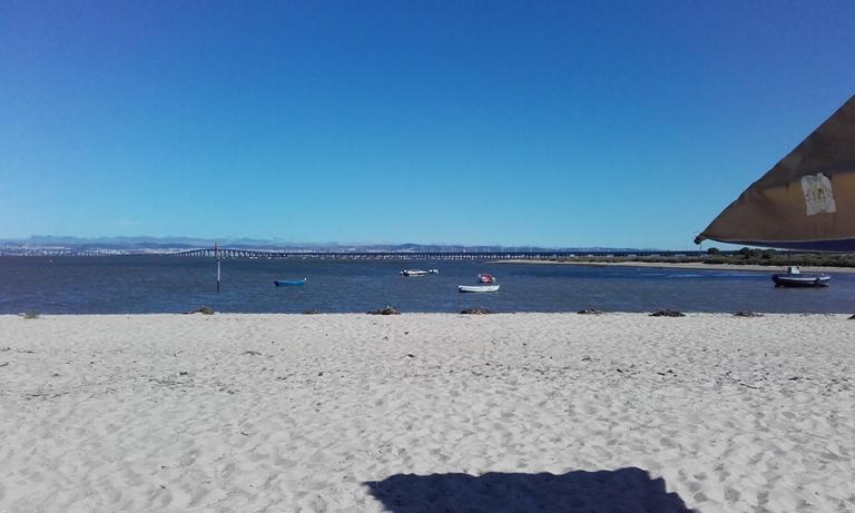 Areal Praia Fluvial Samouco