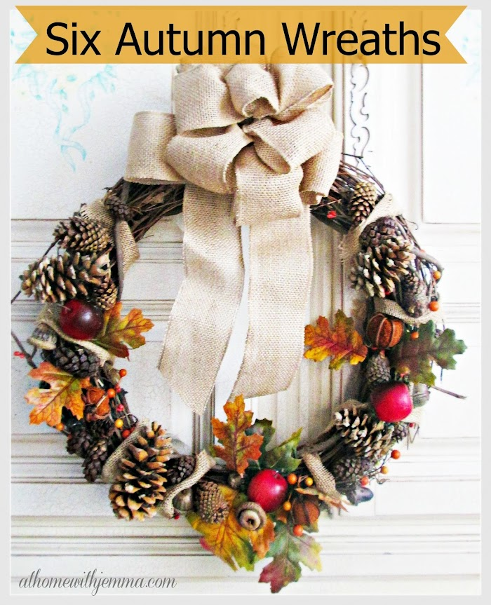 Six Autumn Wreaths