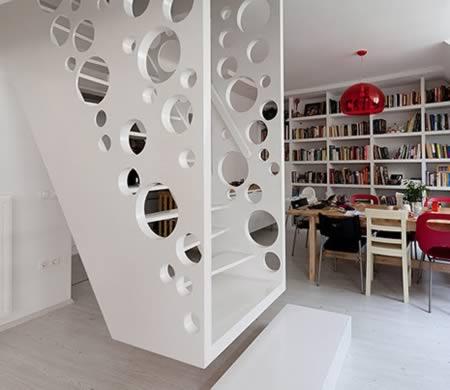 Diseño de escalera moderno