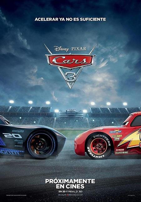 Cars 3 (2017) 720p y 1080p WEBRip mkv Dual Audio AC3 5.1 ch