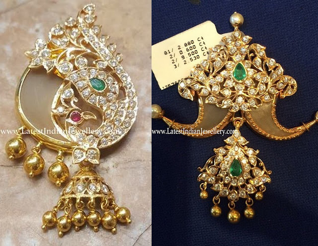 Designer Diamond Puligoru Pendants