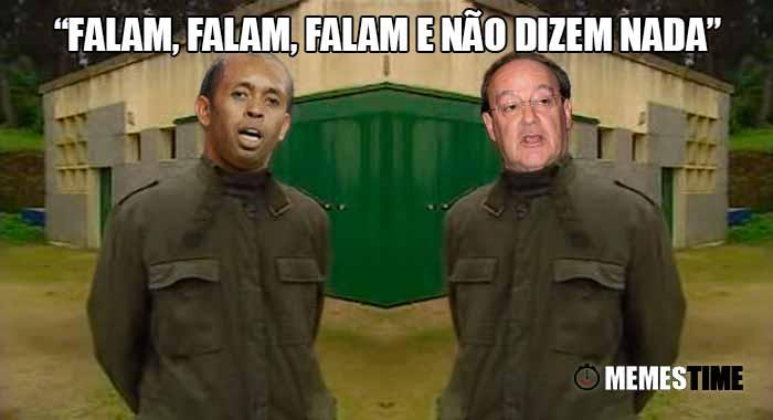 GIF Memes Time… da bola que rola e faz rir - Helton o antigo grada-redes e capitão do Porto e Pinto da Costa parece que finalmente se entenderam sobre rescisão de contrato do atleta – Falam, falam, falam e não dizem nada!