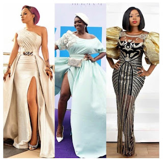Toke Makinwa, Waje, Omawumi, Others Step Out In Style For Movie Premiere [Photos]