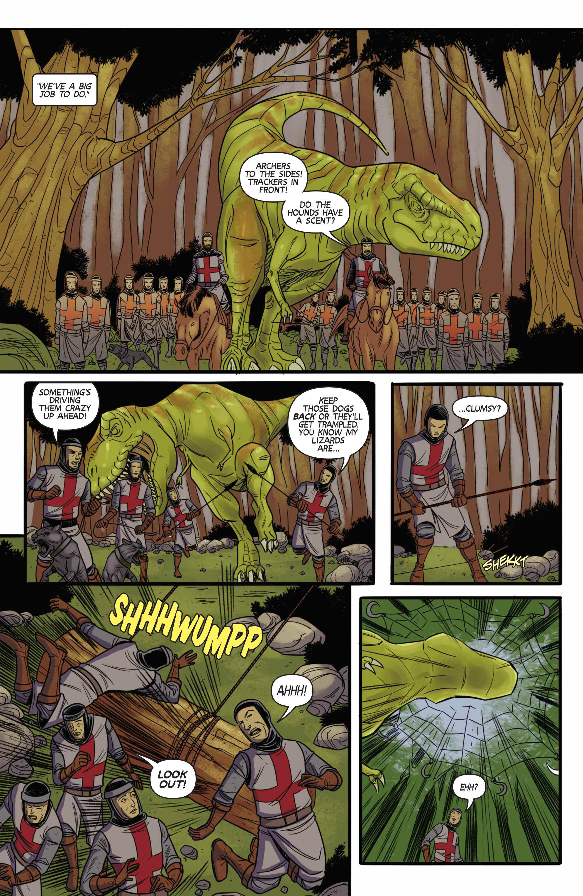 Read online Turok: Dinosaur Hunter (2014) comic -  Issue # _TPB 3 - 81