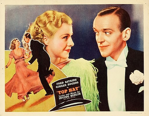 Lobby card from Top Hat