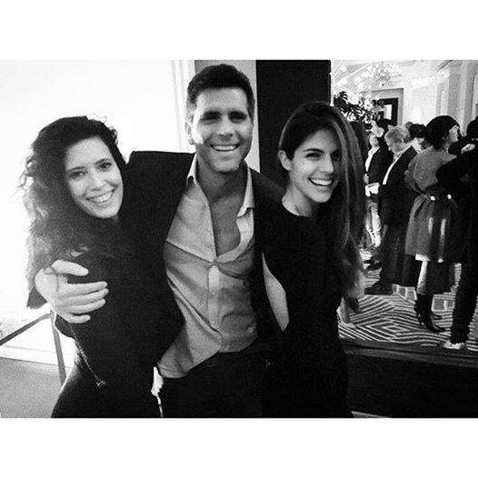 Costa Flavor Christian Meier Alongside Angie Cepeda And Stephanie Cayo